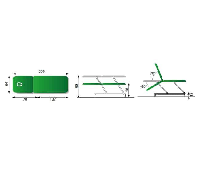 Table-electrique-2plans-hauteur-variable-automate-confort