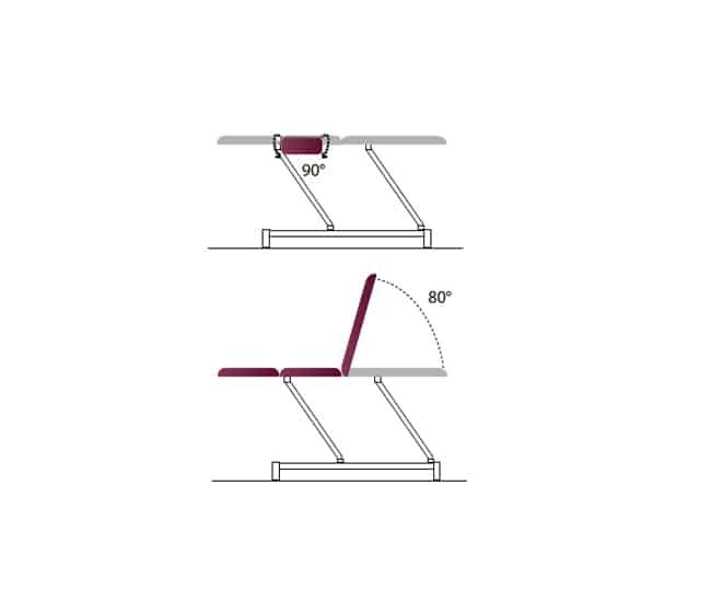 Table-electrique-3plans-2x2-accoudoirs-pivotants-elevation-rapide-automate-confort